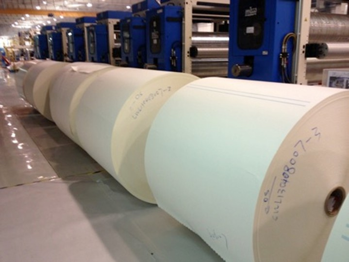 aseptic packaging paper roll